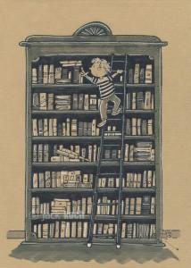 bibliotheque échelle